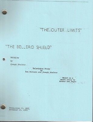 """THE OUTER LIMITS  show script """"The Bellero Shield"""""""
