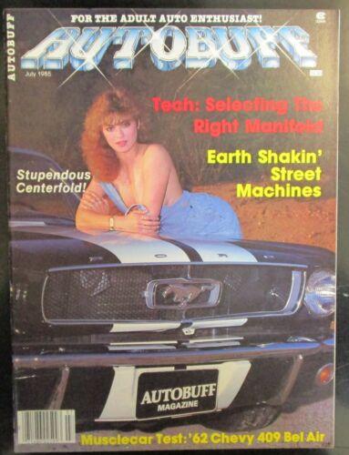 Autobuff Magazine July 1985 Volume 4 Number 7 Issue #25