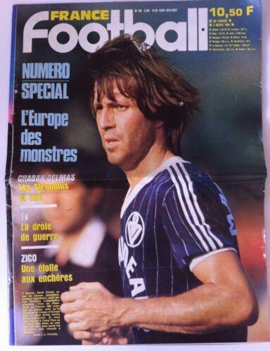 France Football du 5/03/1985; Zico/ René Girard/ Spécial Numéro Europe des Monst