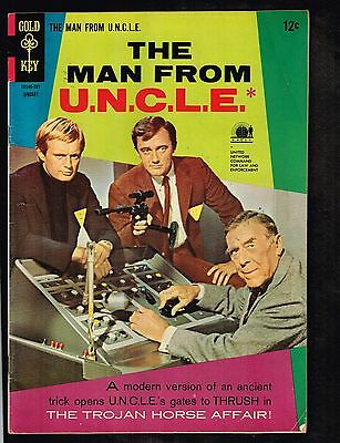 Man From Uncle  10   Gold Key  Photo Cover   1967  5 0  Wh