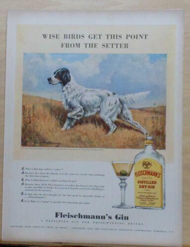1940 magazine ad for Fleischmann