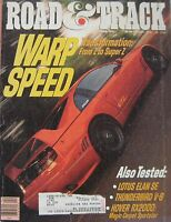 Road & Track 04/1991 Featuring Stanguellini, Lotus Elan, Seve Millen Gtz, Ford - road and track - ebay.co.uk