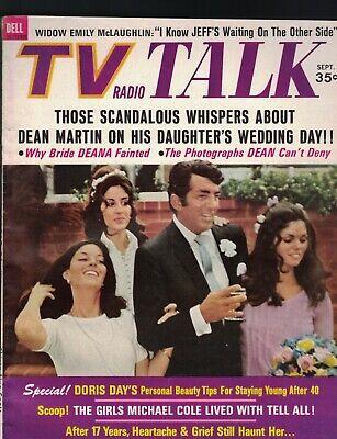 TV Radio Talk Magazine September 1969 Dean Martin Doris Day Lucille Ball segunda mano  Embacar hacia Argentina