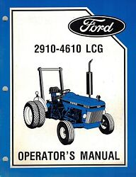 ford 2910 tractor owners manual