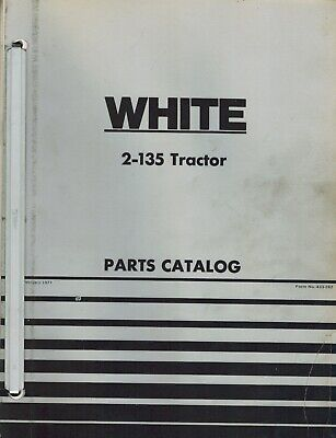 White 2-135 Field Boss Tractor Parts Manual 433 282