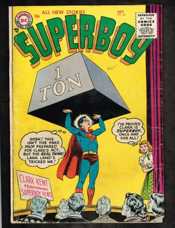 Superboy #44~ 1st series ~ 1955 (3.0) WH