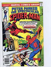 Peter Parker,Spectacular Spider-Man #1 Marvel 1976
