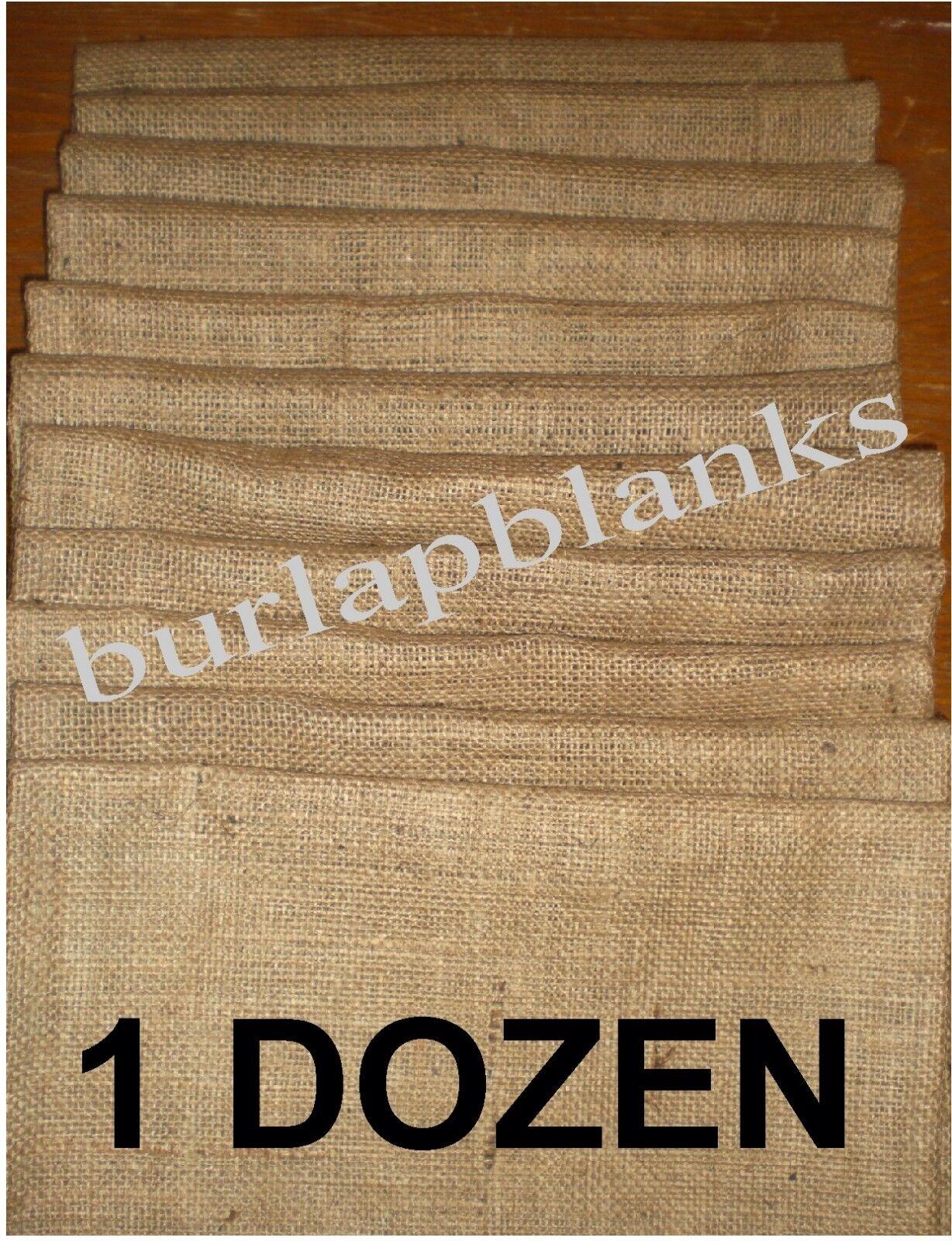 burlap garden flags 1 dozen wh... Image 0