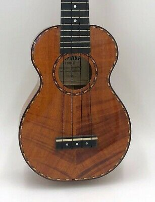 Kamaka 100th anniversary Hawaiian koa wood collectible NEW