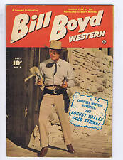 Billy Boyd Western #7 Fawcett 1950