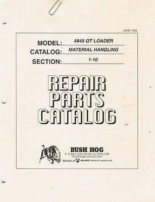 Bush Hog 4845qt Loader Repair Parts Manual