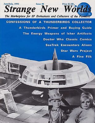 Thunderbirds magazine Gerry Anderson Kits Action Figures Toys buying guide