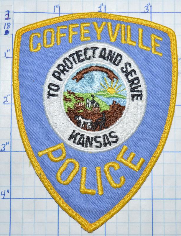 KANSAS, COFFEYVILLE POLICE DEPT PATCH