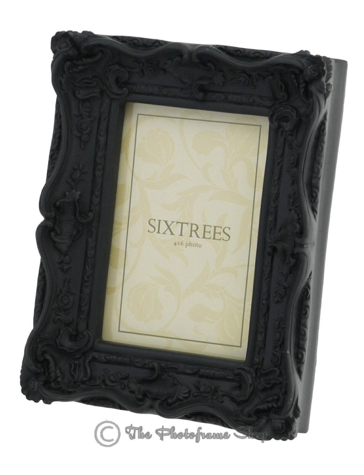 Ornate Swept Shabby Chic Vintage Antique Style Photo Frames 4x4 6x4 ...