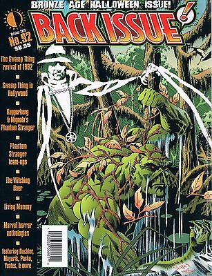 Back Issue #92 Bronze Age Halloween Issue Swamp Thing Phantom Stranger 2016](Take Back Halloween)