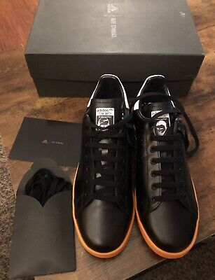 Vintage adidas by Raf Simons X Stan Smith Leather Sneaker Size 11.5 $452.00
