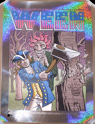 SPARKLE FOIL VARIANT Ween 2016 Broomfield CO Screen Print Poster Justin Hampton