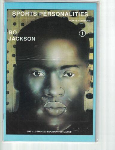 Sports Personalities #1 VF/NM bo jackson biography - diamond limited edition