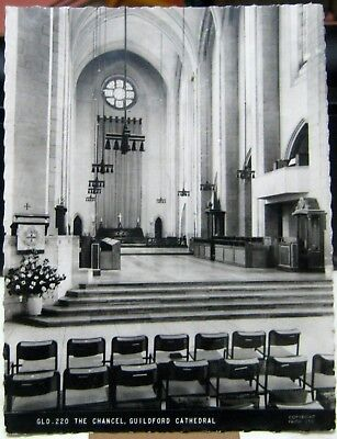 England The Chancel Guildford Cathedral - unposted