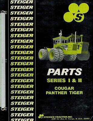 Steiger Series L Ll Cougar Panther Tiger Tractors Parts Manual