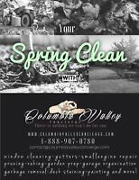 Book Your Spring Cleaning Now!!
