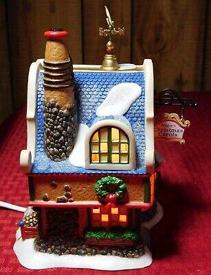 2006 Dept. 56 North Pole Series Augie's Christmas Carols 56.56954 Indoor Use