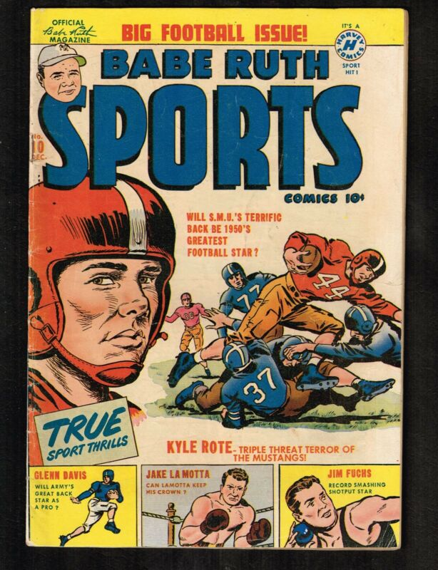 Babe Ruth Sports #10 ~ Big Football Issue! ~ (3.5) WH