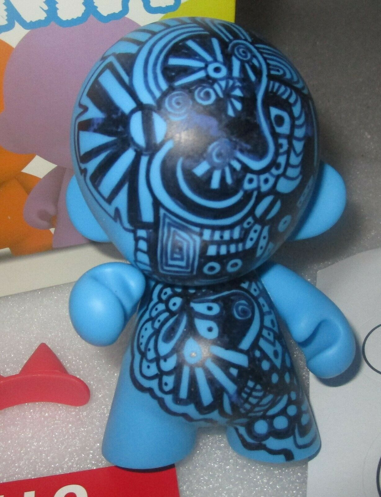 Mini Munny ROSIE O DONNELL Hand Painted And Signed Autographed Kidrobot Mint MIB - $149.99
