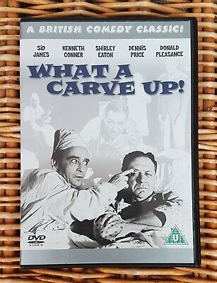 WHAT A CARVE UP! DVD OFFICIAL RELEASE SID JAMES KENNETH CONNOR SHIRLEY EATON OOP