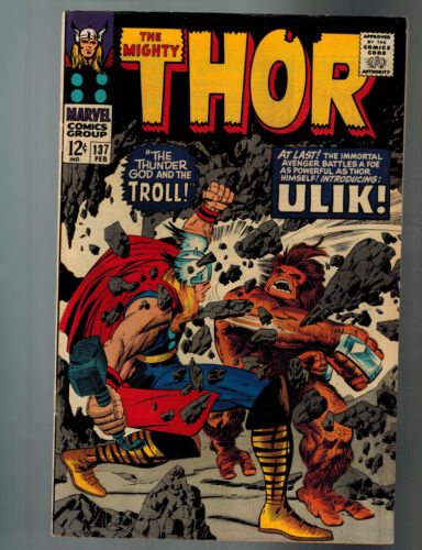 Thor #137 (Marvel) 1st Print Silver Age 1st Ulik The Troll Stan Lee & Jack Kirby