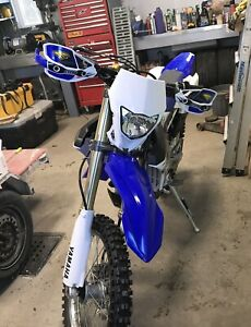 WR250F 2016 comme neuf!