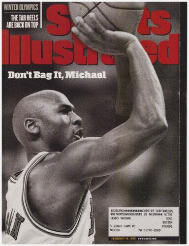 Sports Illustrated February 16, 1998 Don't Bag It, Michael- Jordan Retires