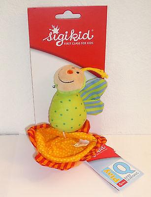 Sigikid 40343 Greifling Schmetterling mit Blume Kuscheltier Neu & Ovp