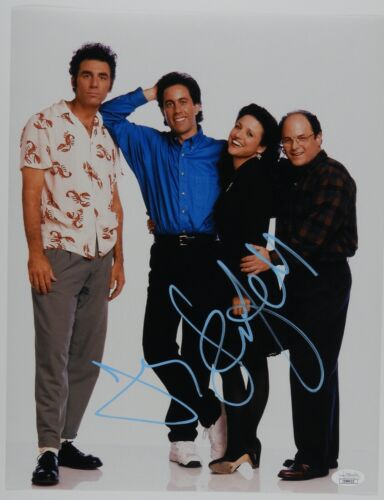 Jerry Seinfeld Autograph Signed Photo JSA COA 11 x 14