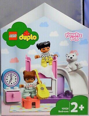 LEGO DUPLO 10926 Kinder-Zimmer Spielbox Clara Sophie Rutsche 2 x Bett Teddy NEU