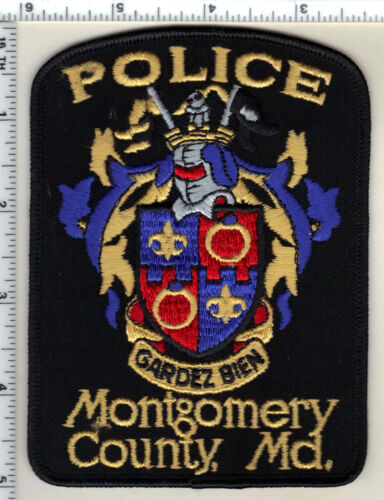 Mongomery County Police (Maryland) Shoulder Patch - new 1980