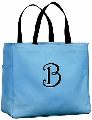 Personalized Tote Bags Monogram Gift Ideas for Teachers Coaches Appreciation