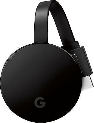 Google - Chromecast Ultra 4K Streaming Media Player - Black