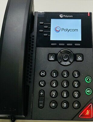 Polycom Vvx 250 2201-48820-001 Voip Business Telephone Tested