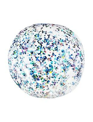 Glitter Beach Pool Beach Balls by Pool Candy New In Box Pink, Purple Silver Blue