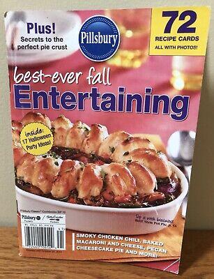 Best Halloween Recipes Ever (Pillsbury Classics Best Ever Fall Entertainment 72 Recipe Cards Halloween)
