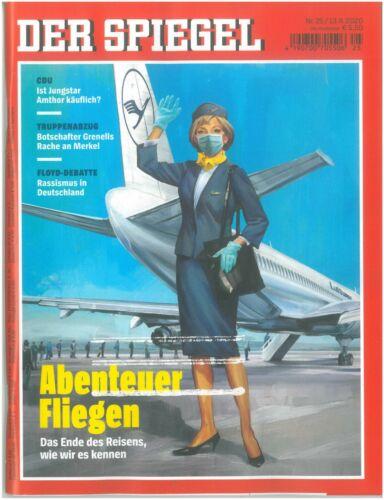 DER SPIEGEL - Das Nachrichtenmagazin - 25-2020 vom 13.06.2020 -neu und ungelesen