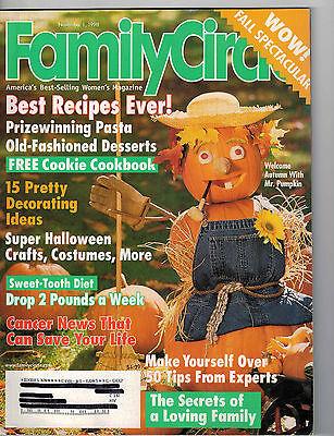 Family Circle 1998 Halloween Costumes Decorations Pasta Comfort Desserts - Squash Halloween Costume