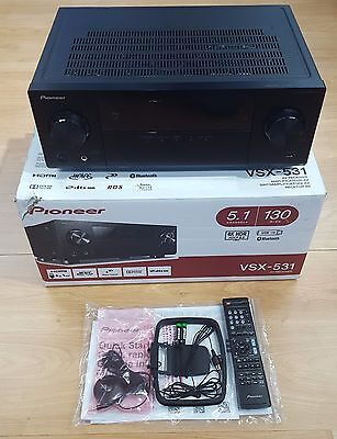 Pioneer VSX-531 Home Cinema 4K 5.1 AV Receiver with Bluetooth Black  EX-DEMO#480