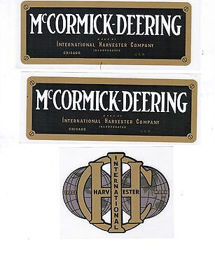 1.5hp International Harvester Mccormic-deering M Hit Miss Gas Engine Motor Decal