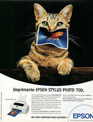 Publicité 1998  imprimante epson stylus photo 700