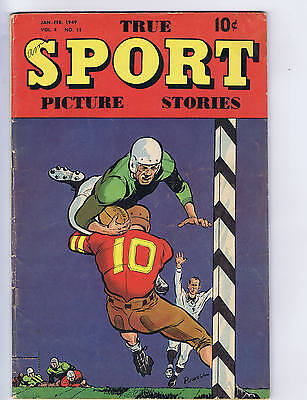True Sport Picture Stories V4 #11 Street and Smith 1949