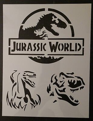 Jurassic World Park Dinosaur Raptor Trex 8.5