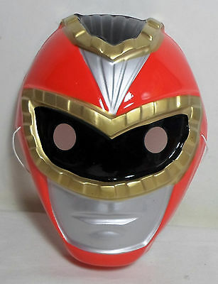 POWER RANGERS RED RANGERS 7'' MASK FOR KIDS HALLOWEEN PROP NEW IN QUANTITY