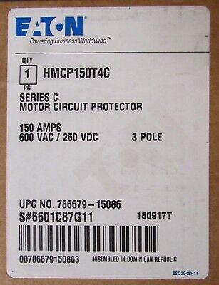 Eaton Cutler Hammer Hmcp150t4c Type Hmcp Motor Circuit Protector 150 Amp 3 Pole